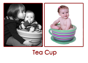 baby in teacup